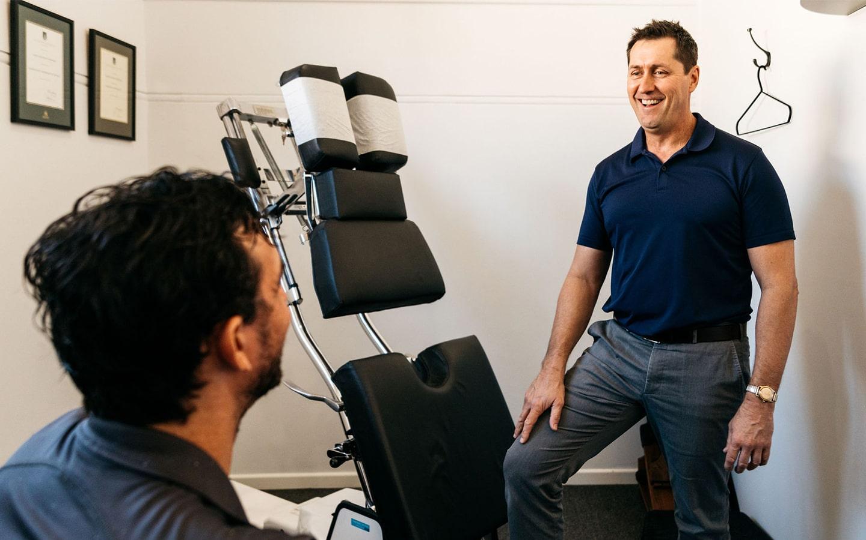 Dr David Oxenham Tribe Chiropractic